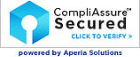 logo saying compliassurce secured
